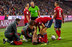 Concern for Coman as Bayern star suffers another serious ankle injury