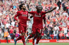 Salah on target as Liverpool make it three wins from three to go top of the Premier League