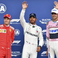 Hamilton snatches Spa pole in rain-hit Belgian Grand Prix qualifying