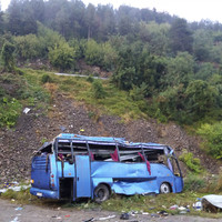 16 dead after tourist bus crashes and overturns in Bulgaria