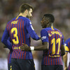 Dembele strike enough for champions Barcelona to see off Valladolid