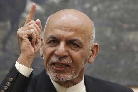 File photo of Afghan President Ashraf Ghani.