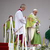 'We ask pardon for all the abuses' Pope Francis tells Mass in unscripted remarks