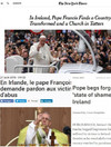 'A country transformed': How the world's media covered the pope's Irish visit