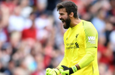 'Mistakes may happen!' - Alisson vows to keep taking risks with Liverpool