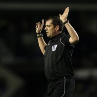 Man in black: Phil Dowd to referee the FA Cup final