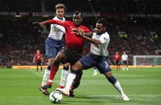 As it happened: Man United v Tottenham, Premier League
