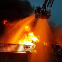 Huge fire at Limerick factory brought under control