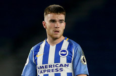 Hughton set to give 18-year-old Irish striker a chance to impress for Brighton