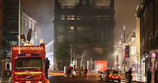 Staff being given 'support and information' after fire completely destroys Belfast Primark store