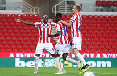 Stoke City striker ends 913-day wait to net and freak own goal seals his side's victory