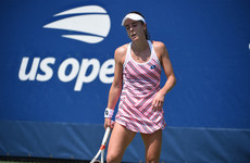 Sexism row at US Open after female player penalised for removing her shirt