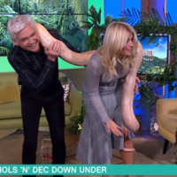 This Morning congratulated Holly Willoughby on her new job with a compilation of all the times she was terrified by animals