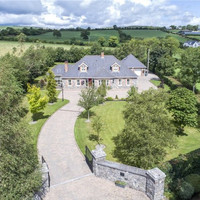 Soak up the rolling hills of Co Meath from this light-drenched family home