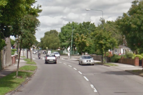 A section of Ballygall Road East.