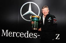 Cool your jets: Mercedes refuse to get carried away with historic win