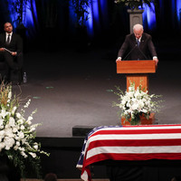 Joe Biden eulogises late friend John McCain as 'giant among all of us'