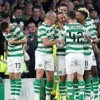 Griffiths reaches milestone as Celtic seal Europa League group stage spot in style