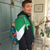 Amy Huberman shared a gas back-to-school photo of Brian O'Driscoll