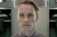 Creepy Michael Fassbender Robot Viral of the Day