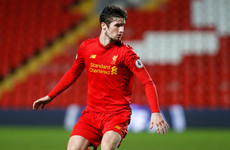 Liverpool defender and Ireland international Corey Whelan joins Crewe Alexandra on loan