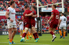 Carbery debuts as Munster start season with six-try win over Cheetahs