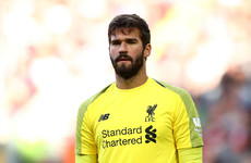Alisson won't be 'stupid' and repeat Liverpool error