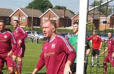 'He's 43 now but he's still got that magic' - Man United great Scholes makes bizarre non-league return