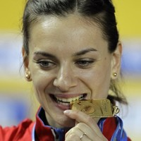 Poles apart: 'The only person who can beat me is myself,' says Yelena Isinbayeva