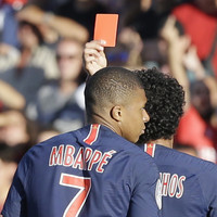 Red card Mbappe needs to calm down, says France coach Deschamps