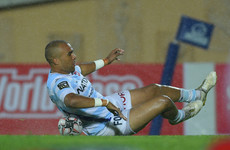 Zebo opens his Top 14 account but Racing hammered by Clermont