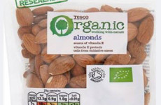 Tesco organic almonds recalled due to presence of Salmonella