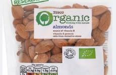 Tesco organic almonds recalled due to presence of Salmonella