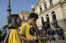 Cutbacks blamed as massive fire guts Brazil's national museum