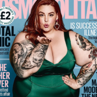 Cosmo editor defends the Tess Holliday cover against Piers Morgan's criticism