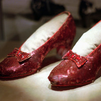 Judy Garland's stolen Wizard of Oz shoes found after 13 years