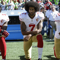 Colin Kaepernick's Nike deal prompts flurry of debate and drop in stock market