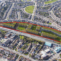 Site with planning permission for over 400 apartments on sale for €32 million