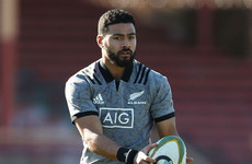 Mo'unga in for Barrett as All Blacks make seven changes for Argentina