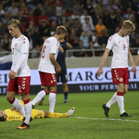 Denmark's team of amateurs and futsal players battle gamely but are beaten by Slovakia