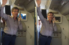 Daniel O'Donnell sang happy birthday to a woman over the intercom on an Aer Lingus flight and made her day