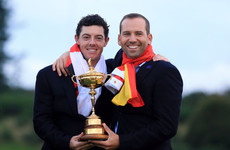 'He's made my experiences at Ryder Cups better' - McIlroy on Garcia inclusion