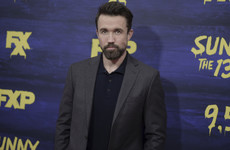 Rob McElhenney from It's Always Sunny is pretty sarcastic when it comes to his physical transformation