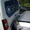 Homeless charity forced to put services on hold after van 'written off' in crash