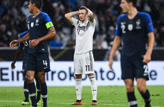 France's third-choice 'keeper saves his side in Germany stalemate