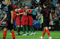 Ronaldo-less Portugal hold World Cup finalists thanks to Pepe header