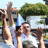 Brazil's presidential frontrunner stabbed at campaign rally