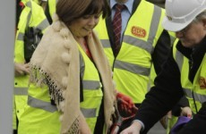Was Mary Harney right to press ahead with that photocall?