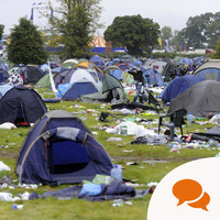 'Festival waste? It's not new - we're a disposable nation and we need to change our attitude'