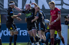 Costly first half leaves Munster licking their wounds at Scotstoun